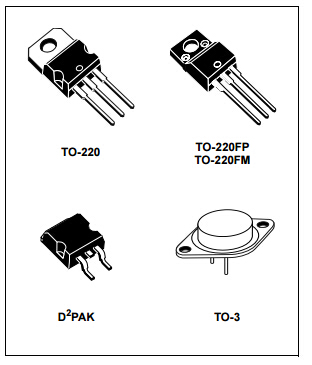 SMD Power Mosfet Module L7812CV TO-220 Power Trans Electronic Compoents