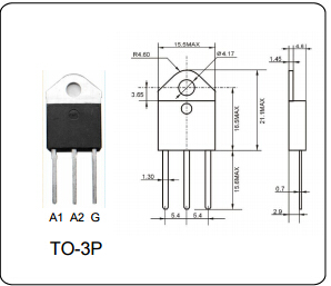 AC Power Triac Dimmer Switch BTA41-600B 40A General ...