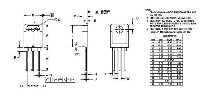 njw0281g njw0302g power mosfet transistor   npn pnp power transistors