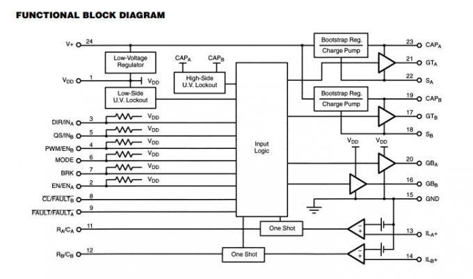 si9978dw ics components configurable h bridge driver electronic chip board