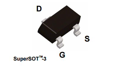 FDN304PZ P-Channel 1 8V Specified Power Trench MOSFET