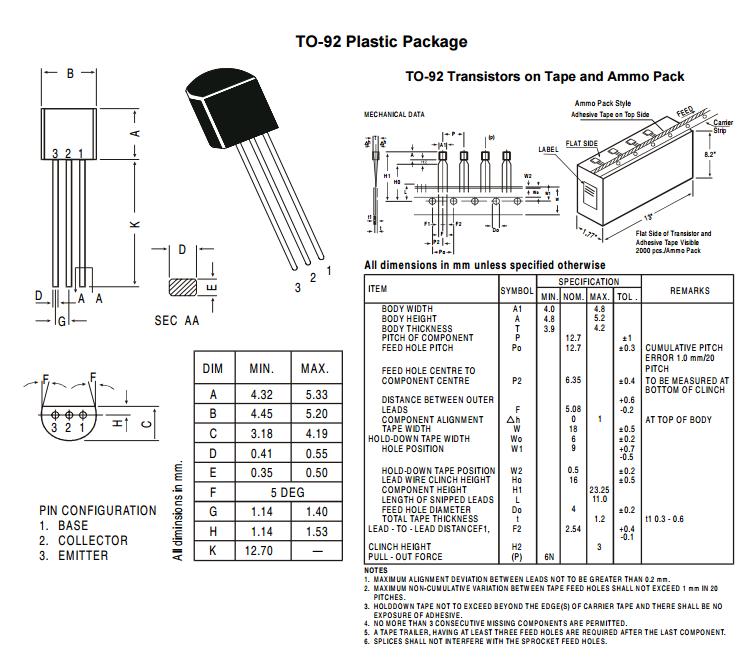 bf422 transistor pdf